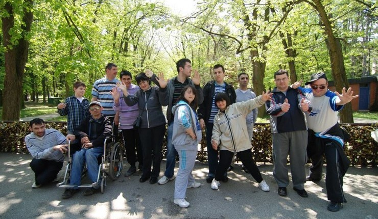 Day care centre for children and youth with disabilities in Vrnjacka Banja, Serbia