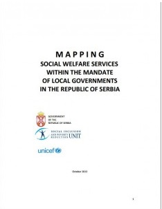 Mapping social welfare services within the mandate of local governments